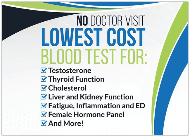 lowest cost blood tests