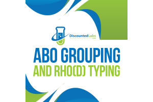 ABO grouping blood type test