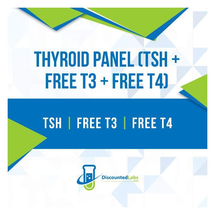 Thyroid Panel Tsh Free T3 Free T4 Discounted Labs