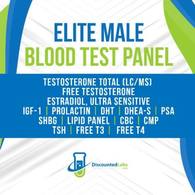 Elite Male Blood Test Panel