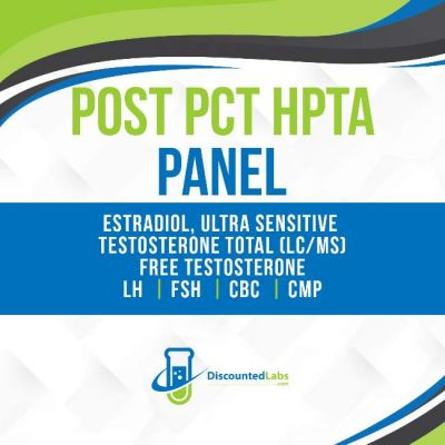 Post PCT Post Cycle Therapy Lab Blood Test Panel