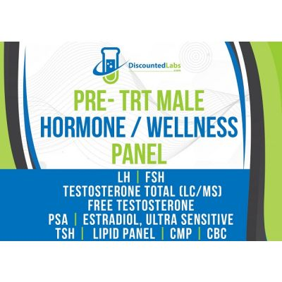 Pre TRT panel before testosterone replacement