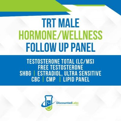 TRT panel discounted lab tests on testosterone