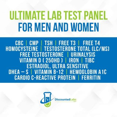 Ultimate Complete Lab Test Panel for Men and Women