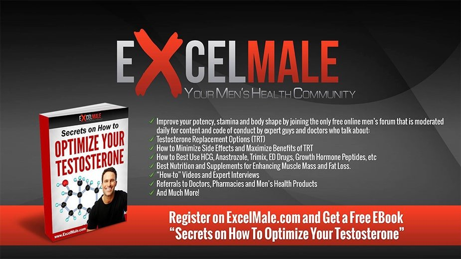 ExcelMale Is The Best Online Mens Health and TRT Forum